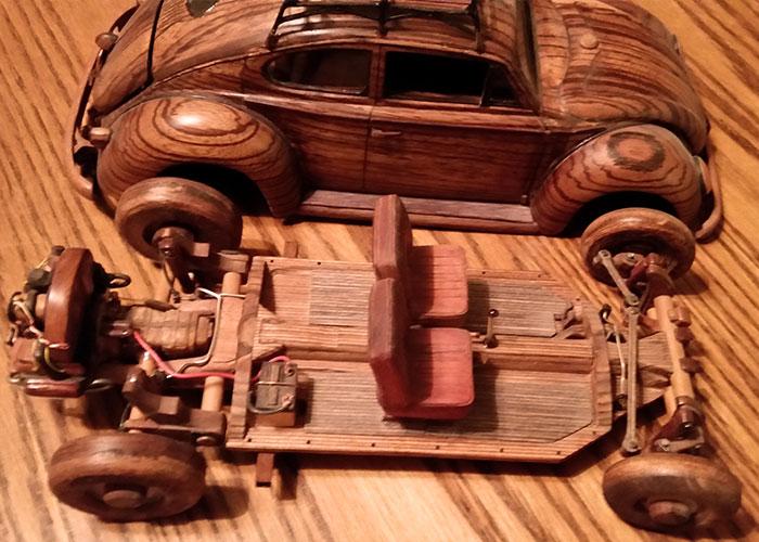 Inside VW Bug