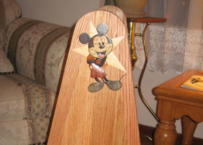 Mickey Mouse Stand (detail)